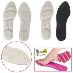 4D sponge soft insole comfort high heel shoe pad pain relief insert cushion BE