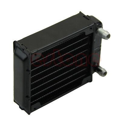 LED Heatsink 1pc 80mm Aluminum Computer Radiator Water Cooling Cooler for CPU