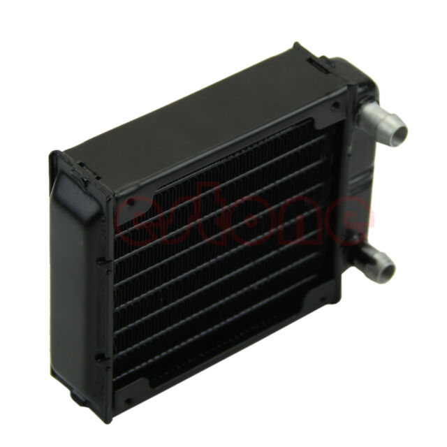 1pc 80mm Aluminum Computer Radiator Water Cooling Cooler for CPU LED Heatsink