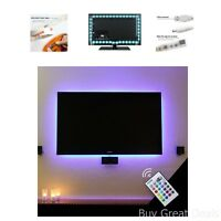 Led Tv Lighting 60-70 Inches Hdtv Strip Back Home Movie Theater Decoration