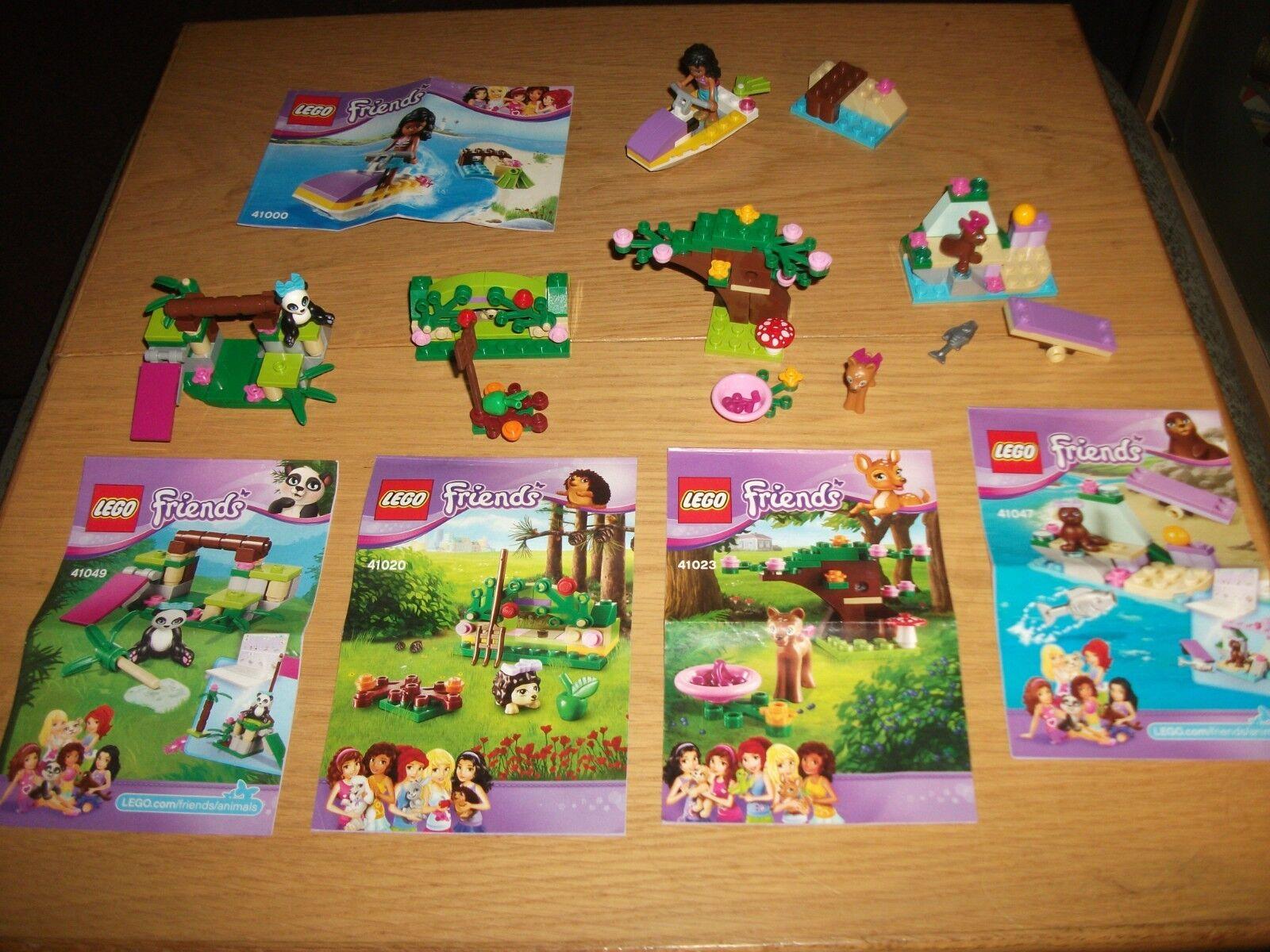 Lego - Friends Nr. 41023   41049   41020   41047   41000 mit BA