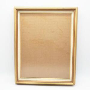 """Vintage Gilded Wood Picture Frame 12x15 for 9-1/2""""x12-1/2"""""""