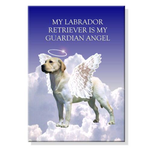 LABRADOR RETRIEVER Guardian Angel FRIDGE MAGNET New DOG