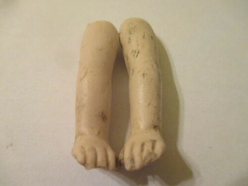 Antique Porcelain Doll Arms Thuringia Germany 50 mm M2