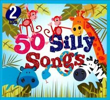 50 Silly Songs [Digipak] by The Countdown Kids (CD, Sep-2010, 2 Discs, Sonoma...