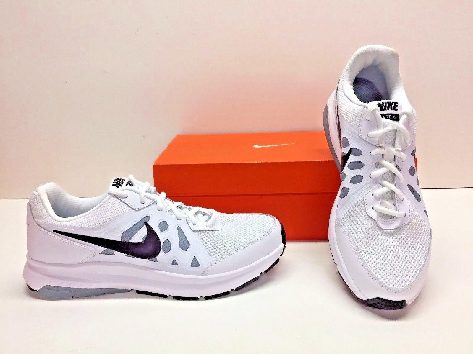 Nike Dart 11 Black XI Running Training White Black 11 Gray Sneakers Shoes Mens 11.5 40e750
