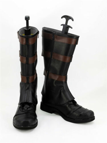 Captain America 3 Cival War Cosplay Schuhe Kostüm Stiefel Shoes Boots Neu New