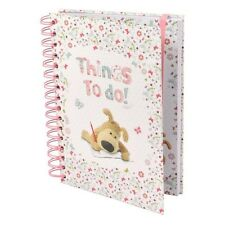 Boofle Bear A5 Things To Do Notepad Spiral Bound Hard Cover Notebook Line Paper