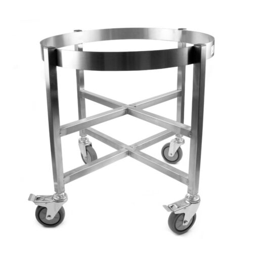 "Vollum Stainless Stockpot Dolly 19/"" Diameter x 23.75/"" High"