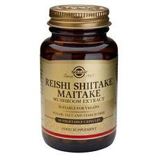 Solgar Reishi Shiitake Mushroom Extract 50 Capsules