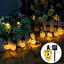thumbnail 4 - 21FT-Outdoor-String-Lights-30-LED-Solar-Bulb-Patio-Party-Yard-Garden-Wedding-Lot
