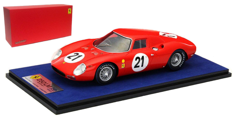 Looksmart FERRARI 250 LM  21 Le Mans winner 1965-J Rindt/M Gregory SCALA 1/18