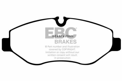 DP1926 EBC Ultimax FRONT Brake Pads fit MERCEDES MERCEDES  VW
