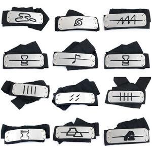 Naruto Kakashi headband cosplay Costumes Accessories toys Props Itachi akatsuki