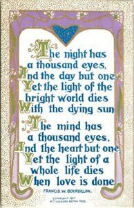 Arts-Crafts-C-1910-Thousand-Eyes-Says-Sheahan-Bourdillion-postcard-3478