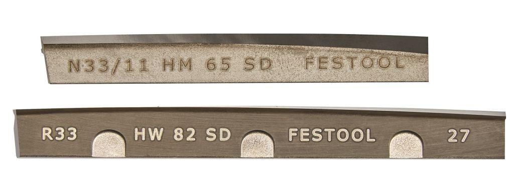 FESTOOL Standard Hobel Spiralmesser HW 65mm 488503 f. EHL   82mm 484515 f. HL850