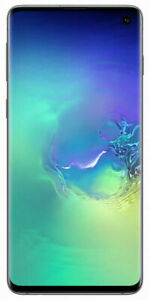 Samsung Galaxy S10 SM-G973 - 128Go - Vert Prisme (Désimlocké) (Simple SIM)