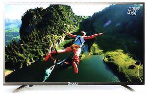 Smart-TV-Led-43-034-Ultra-HD-4K-GRAETZ-E5600-Monitor-PC-DVB-T2-C-HDMI-VGA-USB-WIFI