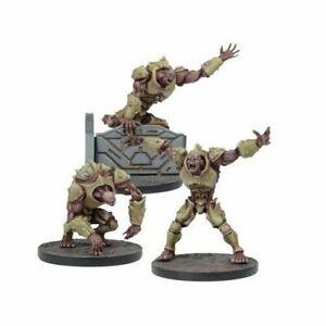 Sin-Caja-Mantic-plaga-Warpath-faccion-3x-2nd-generacion-mutantes-Deadzone-40k-Gen