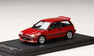 PM4399CR-Mark-43-1-43-Honda-Civic-SI-at-1984-Mugen-MR-5-roue-equipee-de-voiture-rouge