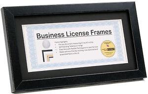 creativepf 5 5x10 5bk b black business license frame holds 3 5x8 5 or 5 5x10 5 9780929058047 ebay ebay