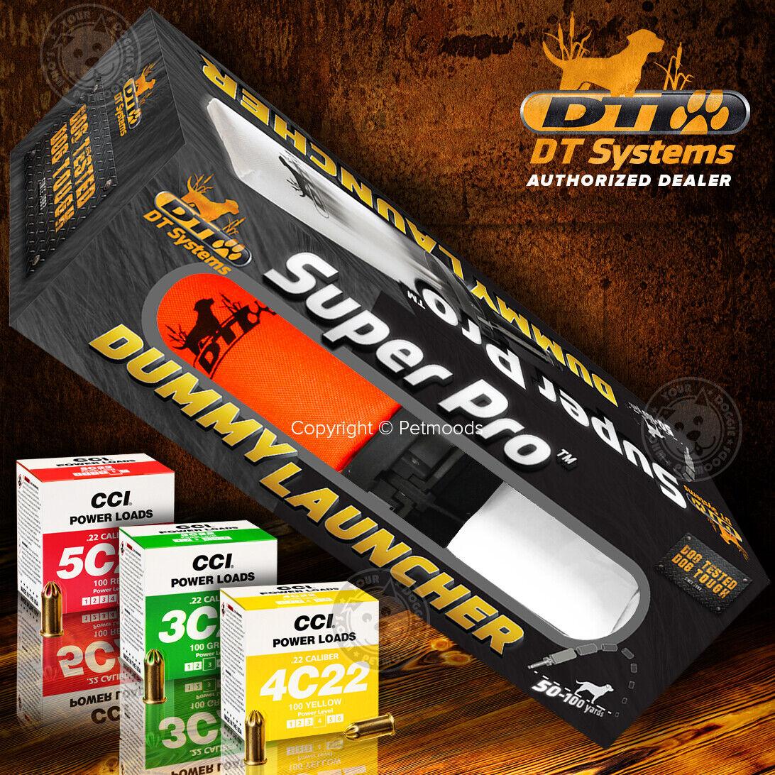 DT Super Pro Maniquí Lanzador Naranja Systems perro formación Kit con cargas de potencia libre
