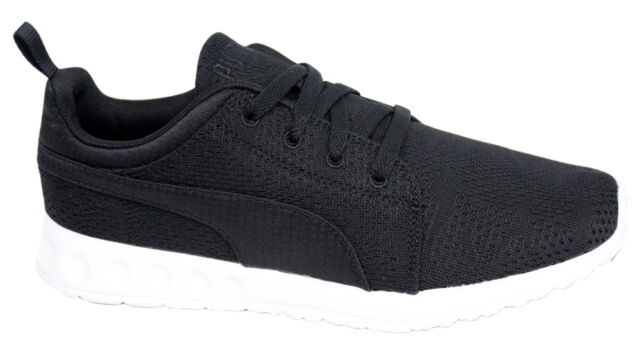 c1c5df84cc65 Puma Carson Runner Mesh Unisex Trainers Running Shoes Black 189173 05 D140