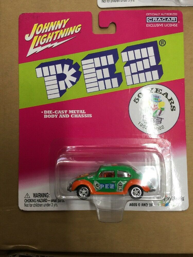Johnny Johnny Johnny Lightning  Pez 50th Anniversary Set-free Shipping- fe8747