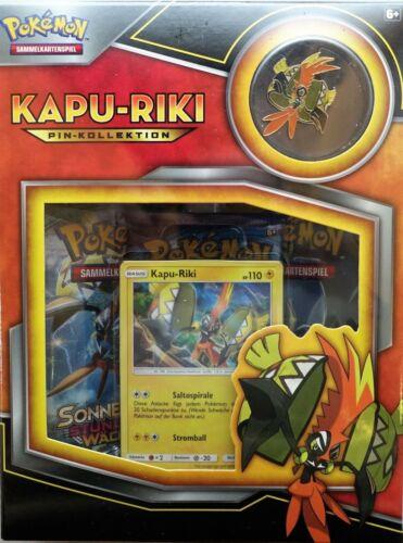Pokemon * deutsche Version DE Pokémon Box: Kapu-Riki Pin Box
