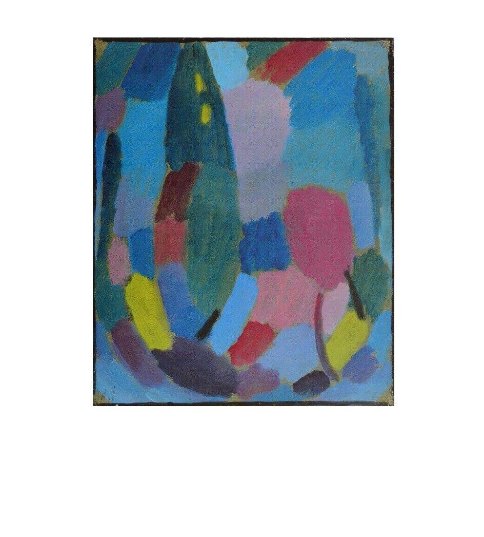 Gabriele Münter Jawlensky und Werefkin Poster Kunstdruck Bild 46x60cm