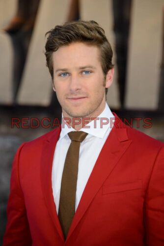 Armie Hammer Poster Picture Photo Print A2 A3 A4 7X5 6X4
