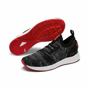 Puma NRGY Neko Engineer Knit Chaussures De Course Fitness Chaussures 191097 Messieurs Black Red