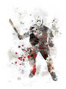 Art-imprime-jason-voorhees-friday-the-13th-illustration-wall-art-horreur