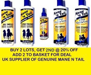 Mane-039-n-Tail-and-Body-Shampoo-Conditioner-Strengthener-Original-Hair-Products