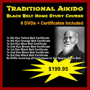 Home-Study-Course-Traditional-Aikido-6-DVD-Set-Certificates