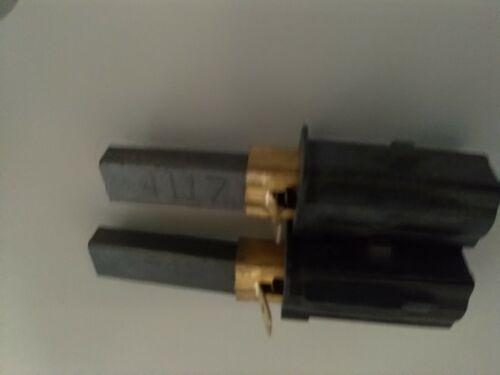 sebobs 36.bs46 et plus Carbone Brosses Paire pour aspirateur Numatic Henry