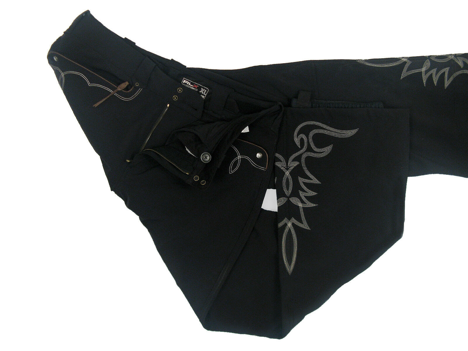 NEW   695 Ralph Lauren RLX Softshell Western Style Ski Pants  XL  (36 x 34.5)