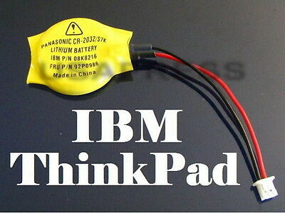 NEW IBM LENOVO Thinkpad X60s X61s CMOS RTC RESERVE BACKUP BATTERY 92P1210