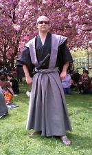 Custom Made To Order Japanese Samurai Edo Period Kamishimo Hakama Kataginu