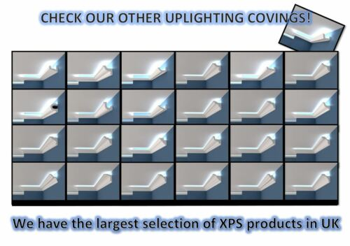 Flat Coving Cornice XPS Polystyrene BLX3 Cheapest MANY SIZES AND TYPES Quality