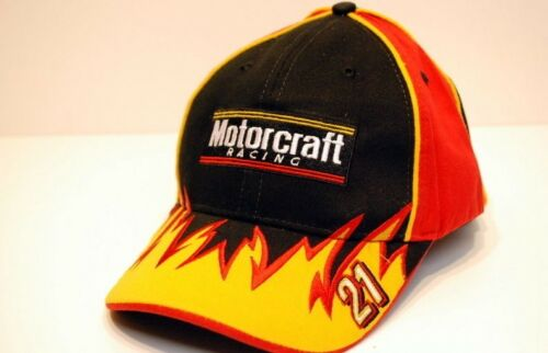 NASCAR Motorcraft Racing Team Caliber Ricky Rudd #21 Cap Hat