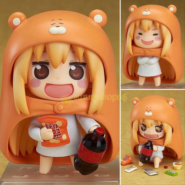 "Anime Himouto! Umaru-chan Doma Umaru 10cm/4"" Nendoroid PVC Figure 524 In Box hot"