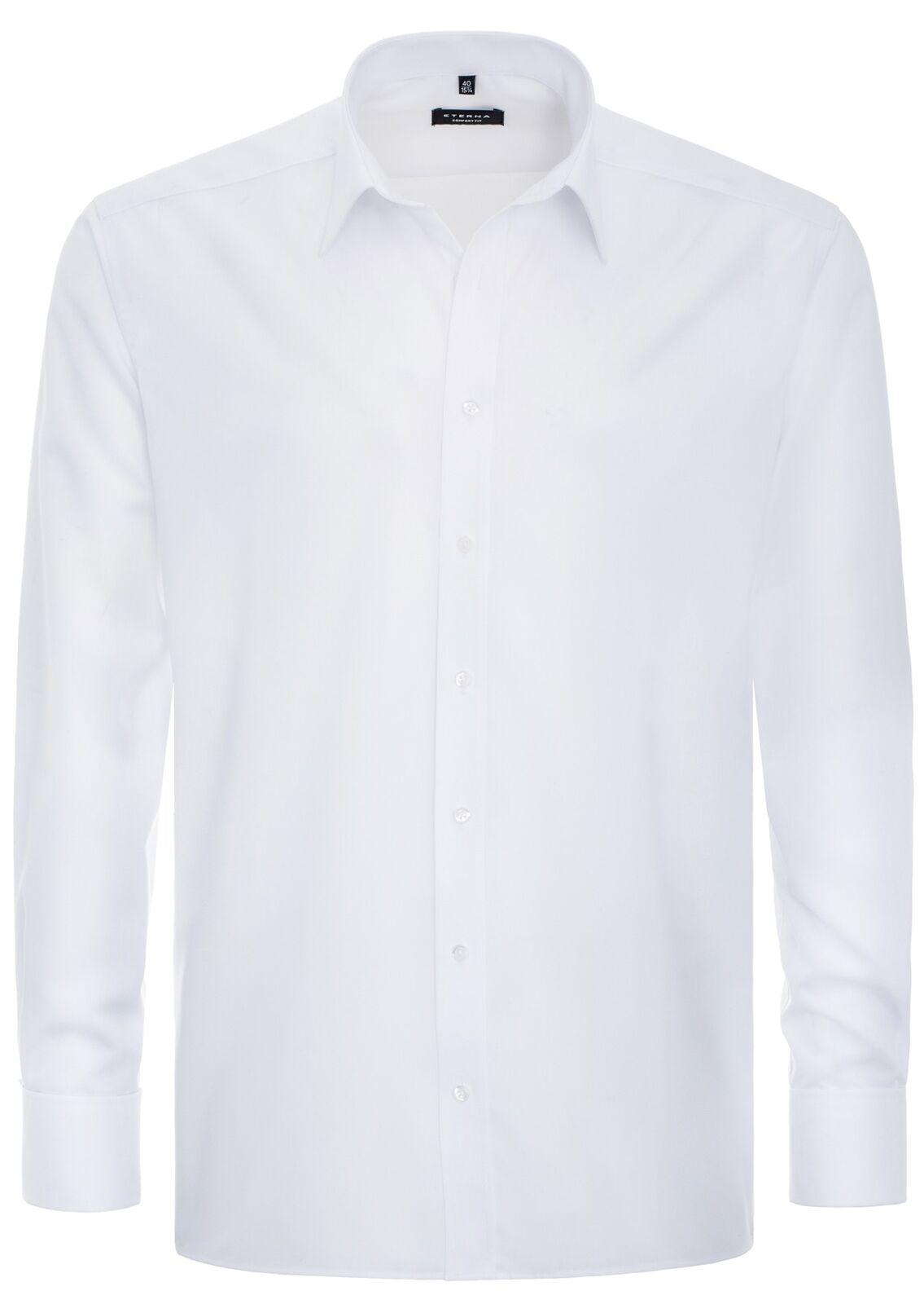 Eterna - Gala - Comfort Fit - Bügelfreies Herren Hemd mit Umschlagmanschette