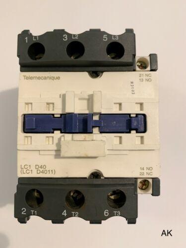 Telemecanique Schneider//LC1 D4011//Power Switch