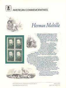 224-20c-Herman-Melville-2094-USPS-Commemorative-Stamp-Panel