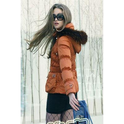 NWT Women's Winter Down Jacket(SN1125),Orange