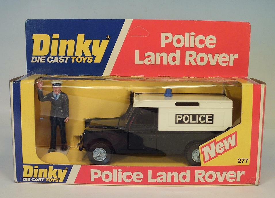 Dinky Toys 277 Police Land Rover policía OVP  3814