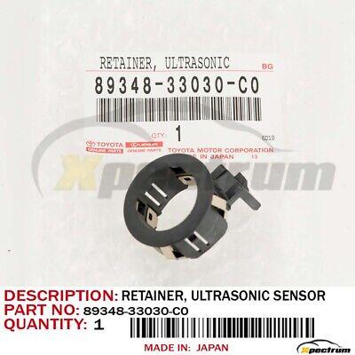 Genuine Toyota Tundra FJ Rear Center Bumper Park Sensor Retainer 89348-33030-C0