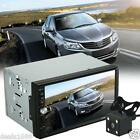 """7"""" Double 2Din In Dash Car Stereo MP3 MP5 Player Touch Bluetooth FM Radio+Camera"""