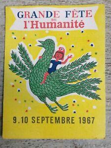 Ticket-Feast-L-039-Humanities-Of-September-1967-No-0323701